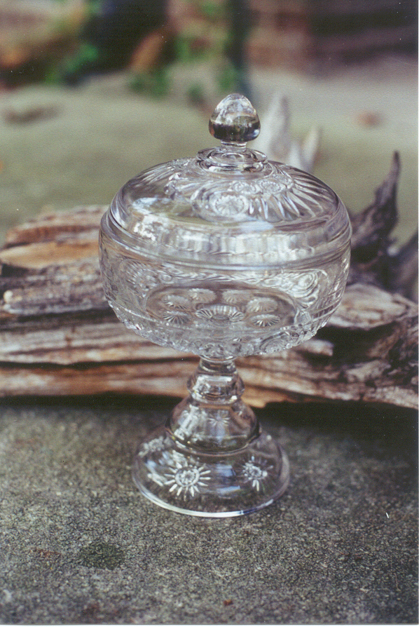Esther Clear Compote with Lid