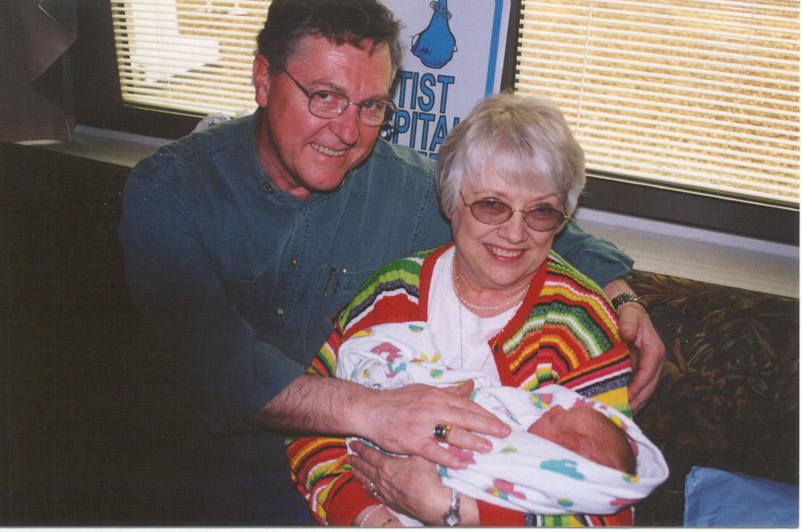 Luke, Papa and Granny