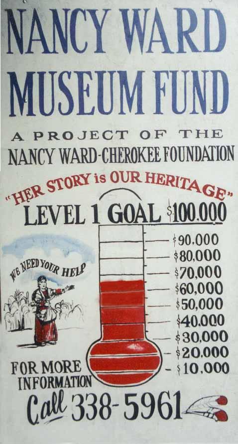 Nancy Ward Museum Project